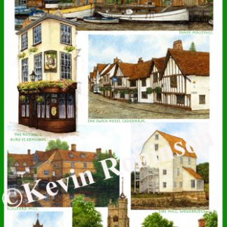 Suffolk Tea Towels