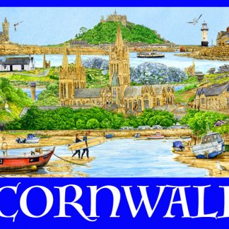 Cornwall Keyrings.