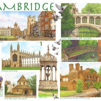 Cambridgeshire Fridge Magnets