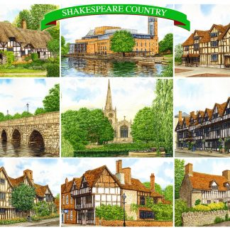Warwickshire Postcards
