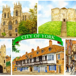 York postcards