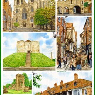 York Tea Towel