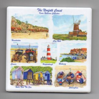 Norfolk Ceramic Coaster