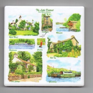 Cumbria Ceramic Coaster