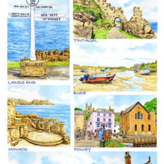 Cornwall Shopping Lists.