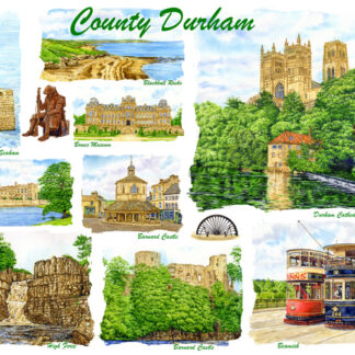 County Durham Cards